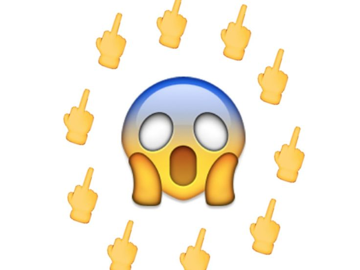 middle finger emoji - - Yahoo Image Search Results