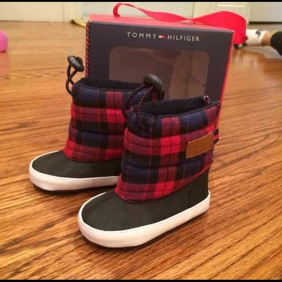 Tommy Hilfiger Infant Boots Brand new still in box size 2 Tommy Hilfiger Shoes
