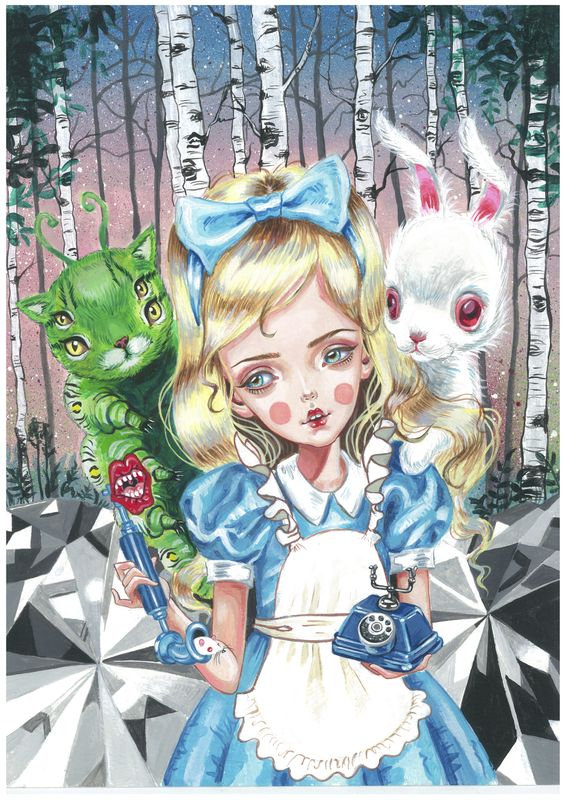 Julie Filipenko | Alice In Wonderland