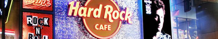 The Hard Rock Cafe is home to many iconic items. The NYC location alone has been given a leather jacket signed by the Ramones, The Who's John Entwistle's bass guitar, and the front doors of Abbey Road Studios.