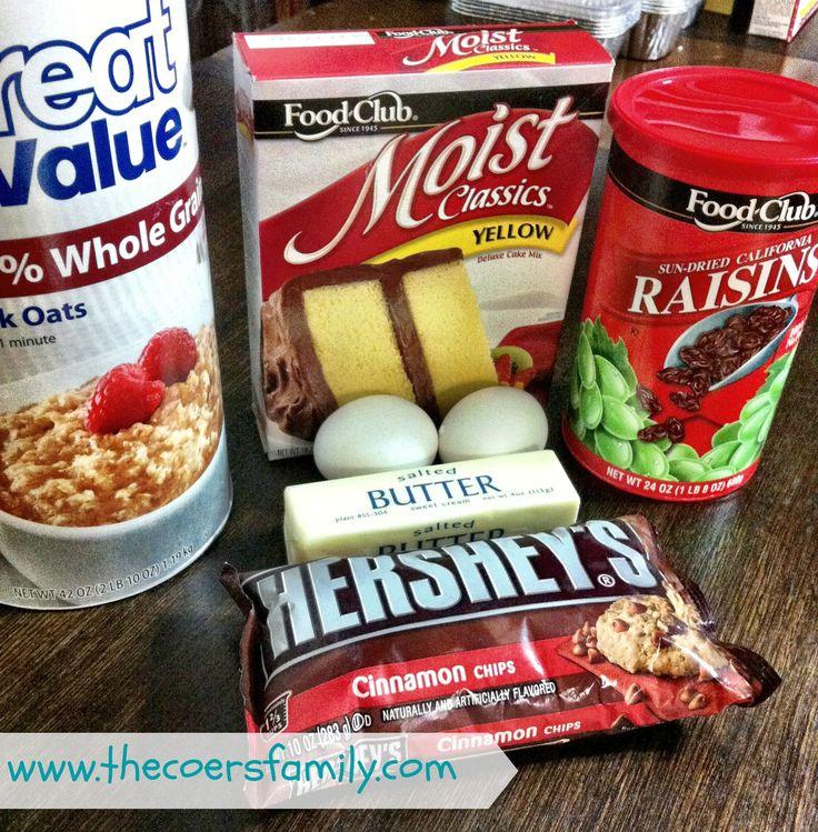 Recipe using box spice cake mix