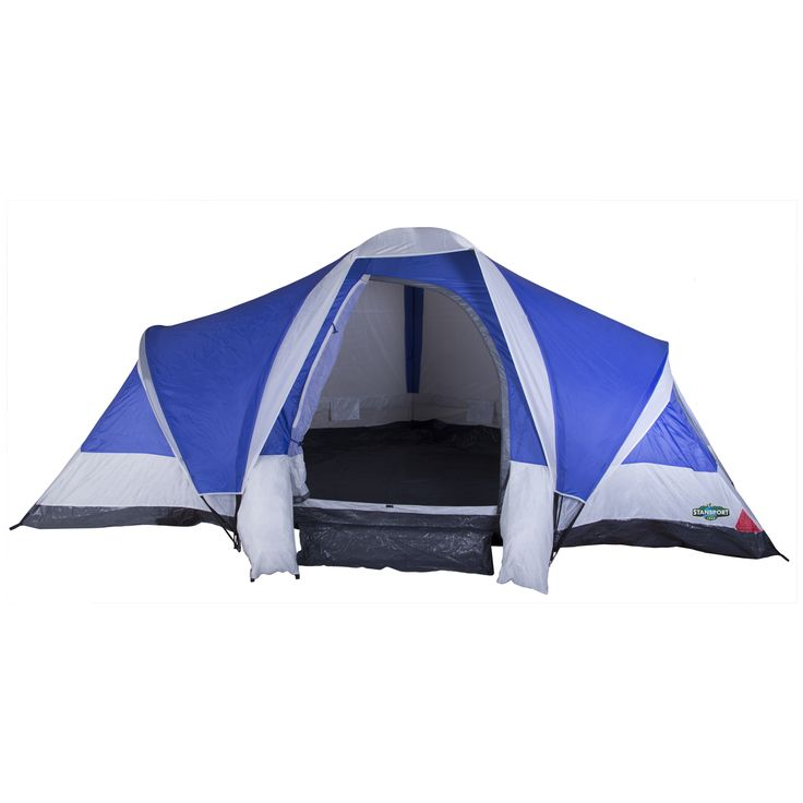 Stansport Grand 18 3-Room 8-Person Tent  sc 1 st  Pinterest & Best 25+ 8 person tent ideas on Pinterest | 20 person tent 10 ...