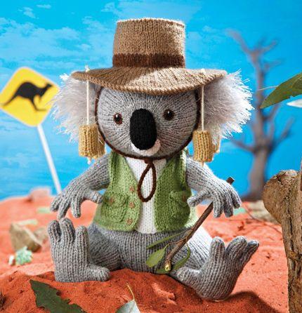 G'day! It's Alan Dart's koala... | Simply Knitting