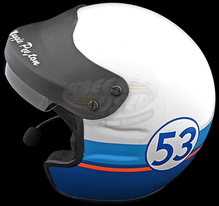 Herbie Fully Loaded - Maggie Peyton's #53 Helmet (Lindsay Lohan)