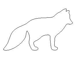 Arctic Fox Pattern