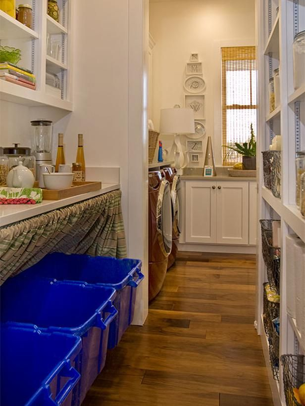 Walk-through Pantry and Laundry Room: The walk-through pantry, which ...