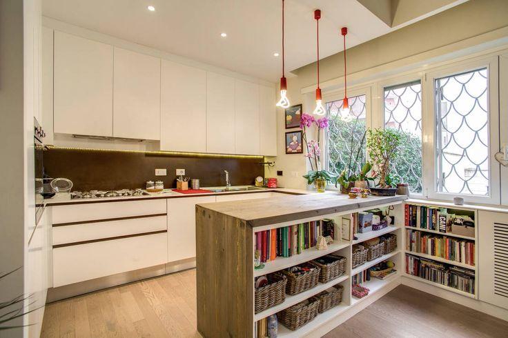 6 idee per fare la cucina più grande! #ideecucina #design https://www.homify.it/librodelleidee/286373/6-idee-per-fare-la-cucina-piu-grande