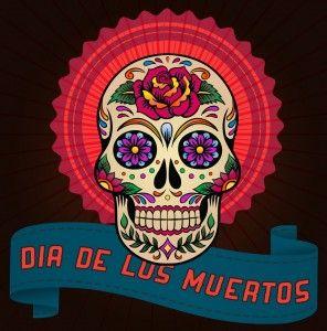 lora lamm graphic for Dia de los Muertos