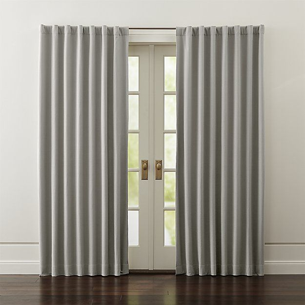 Wallace Grey Blackout Curtains Traditional Interior Drapes Curtains And Rod Pocket