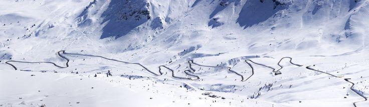 #winter #berge #schnee #motiv #panorama #küchenrückwand #badewannenrückwand #glasrückwand