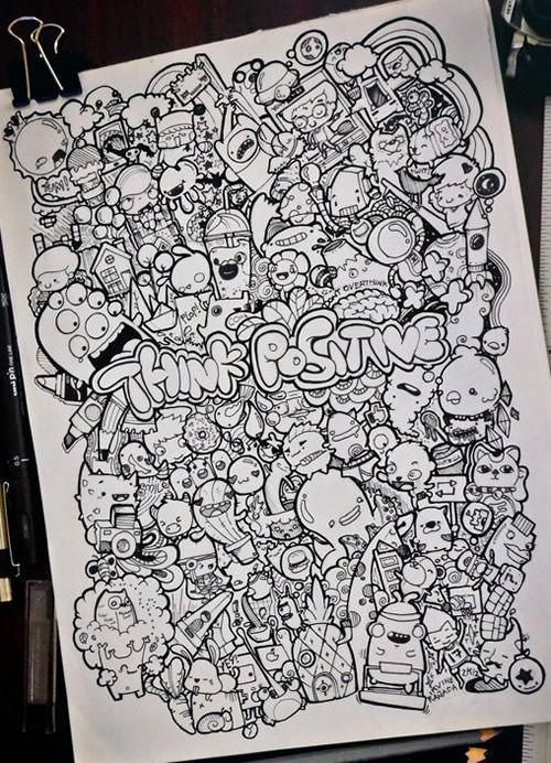 26 Adorable and Cute Doodle Artwork For Your Inspiration - Cerca con Google