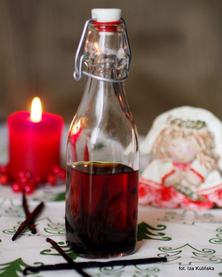Smaczna Pyza: Świąteczne zapachy. Domowy ekstrakt waniliowy