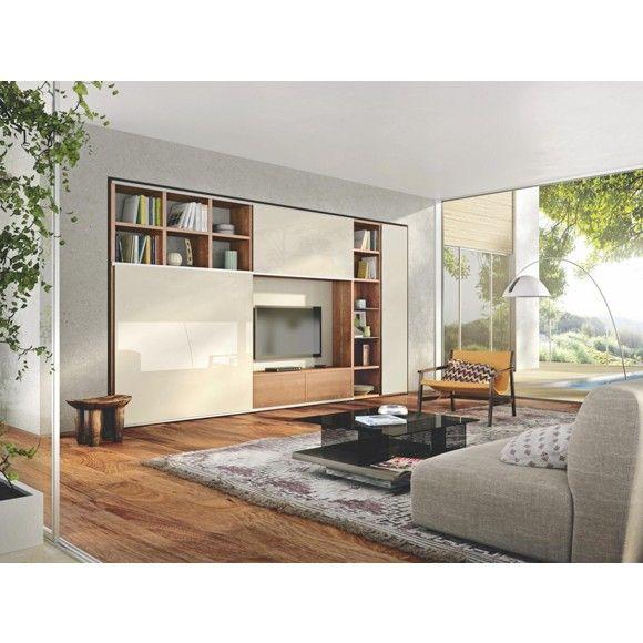 Wohnwand von h lsta hochwertig elegant wohnw nde for Wohnwand hochwertig