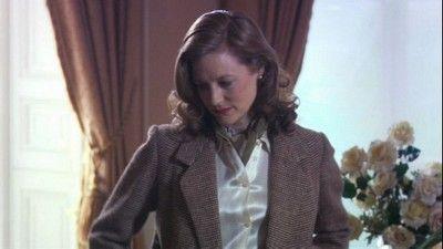 Daphne du Maurier (Geraldine Somerville) in the film 'Daphne'