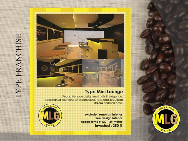 Slide21 - Franchise & Waralaba MLG cafe, coffee shop & Konsultan Cafe Katalog Product