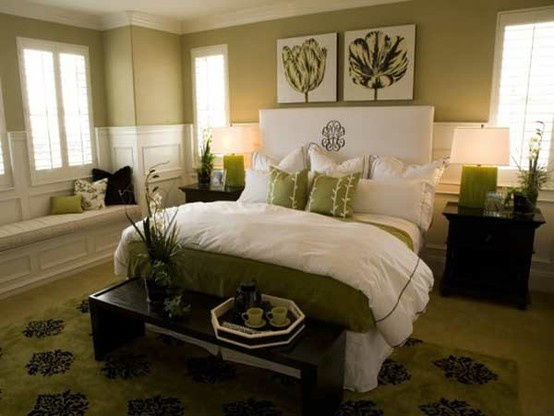 Bedroom Decorating Ideas Green And Brown 124 best light green and white bedroom images on pinterest | home