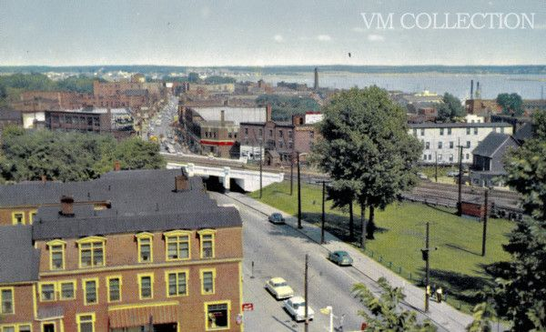 West main in the mid 50's, or early 60's
