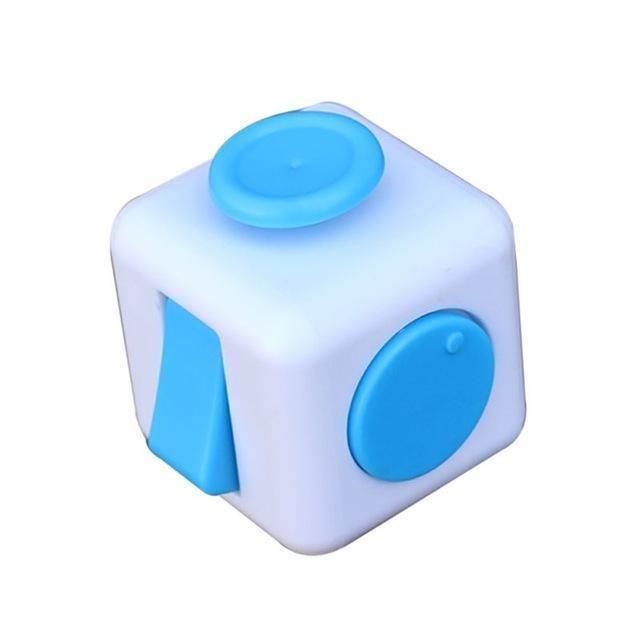 Mini Fidget Cube Toy Vinyl Desk Finger Toys Squeeze Fun Stress Reliever 3cm Antistress Stress Cube Stress Cube Cube Toy Fidget Cube