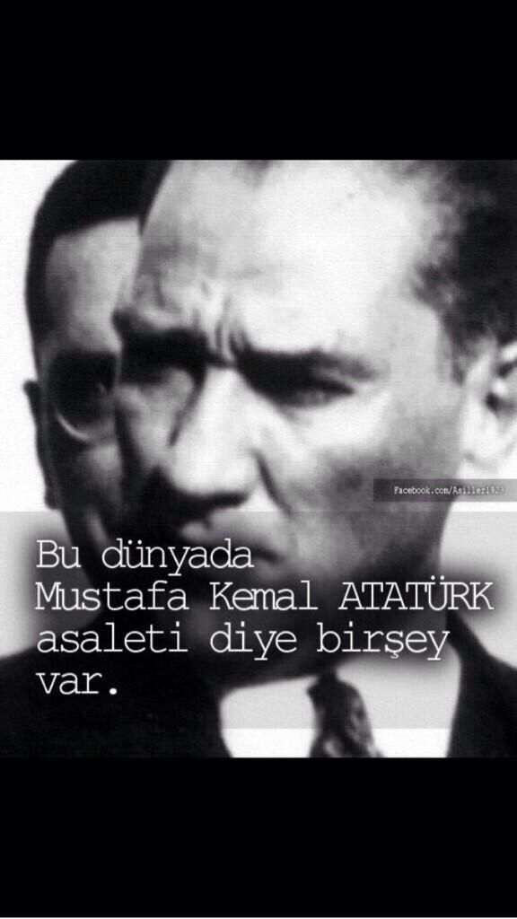 Is there a such a thing in this world Mustafa Kemal ATATÜRK nobility.