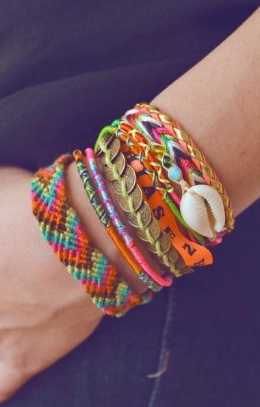 Braided Boho Friendship Bracelets 3 ғᴀsʜɪᴏɴ Pinterest
