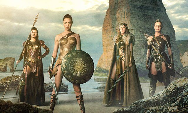 A new Wonder Woman photo has been released online featuring Gal Gadot as the title hero and a first look at the other Amazons in the movie!