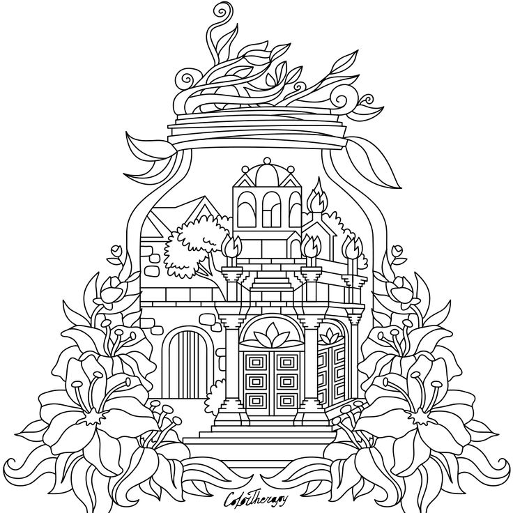 Pin by Coloring Pages for Adults