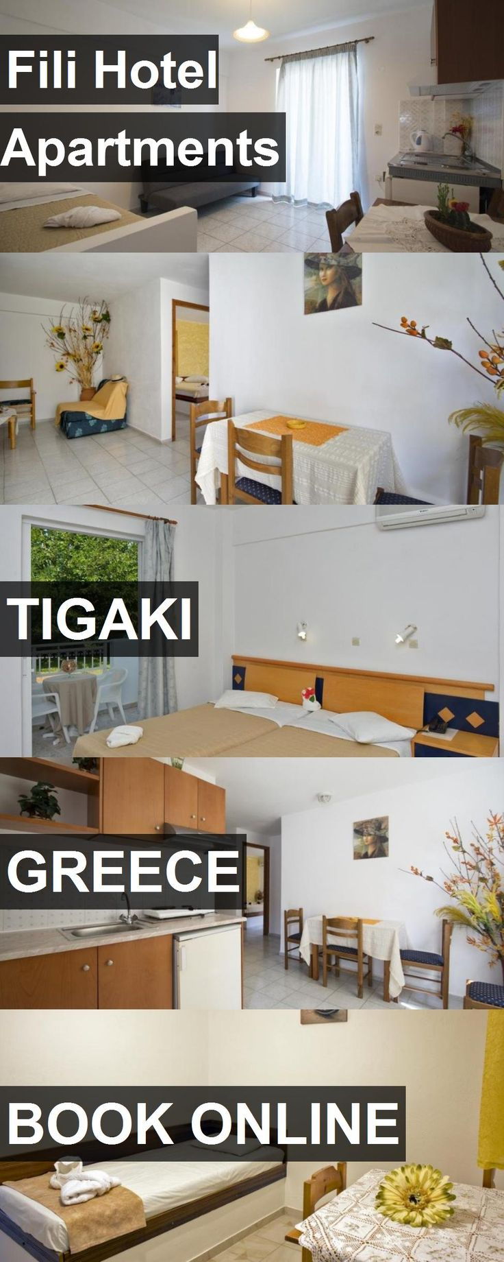 Hotel Fili Hotel Apartments in Tigaki, Greece. For more information, photos, reviews and best prices please follow the link. #Greece #Tigaki #FiliHotelApartments #hotel #travel #vacation