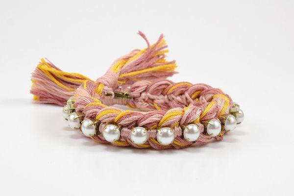 DIY: braid and chain friendship bracelets