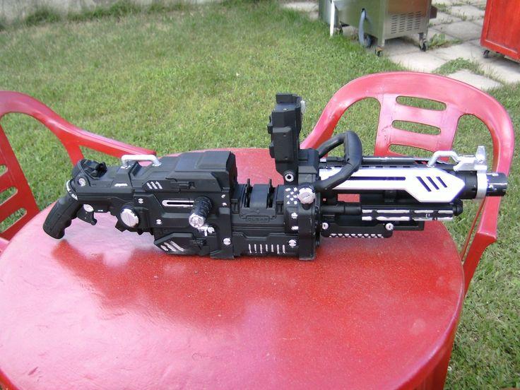 nerf light machine guns