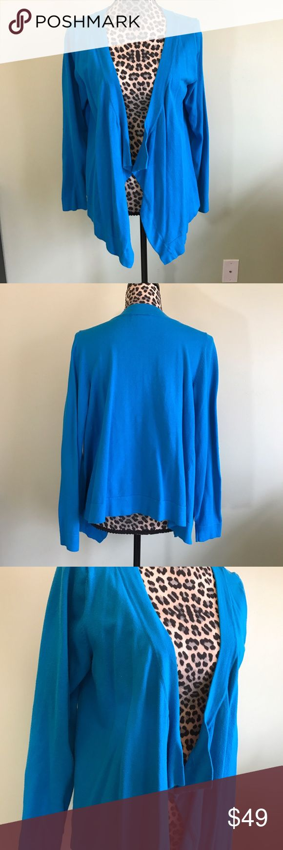 💙 Gorgeous blue open front cardigan Open front cardigan from Lane Bryant. Size 14/16 Lane Bryant Sweaters Cardigans