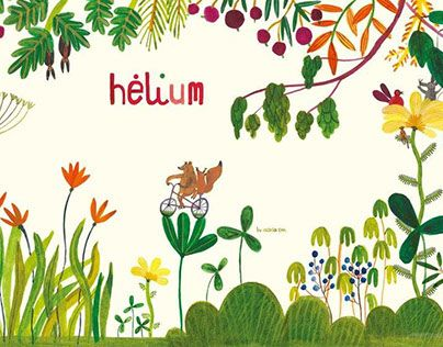 """Check out new work on my @Behance portfolio: """"Hélium stand illustration"""" http://be.net/gallery/46021421/Hlium-stand-illustration"""