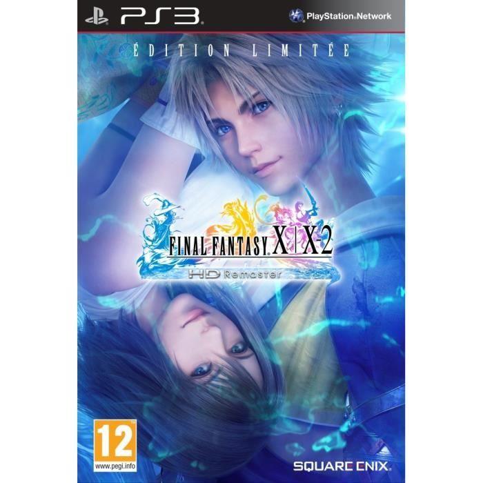 FINAL FANTASY X/X-2 HD Remaster ED limitée PS3 prix promo Cdiscount 38.90 € TTC