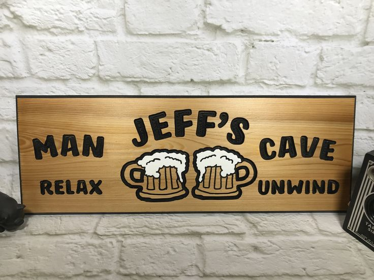 Personalized Man Cave Signs Etsy : 17 best man cave ideas images on pinterest wood signs wooden