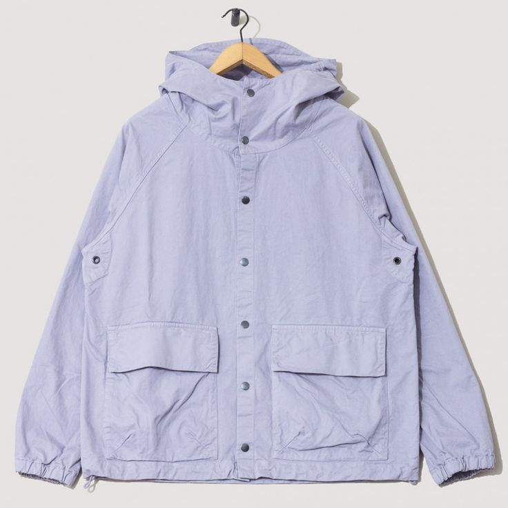 Hooded Parka - Lavender Fog | Albam | Peggs & son.