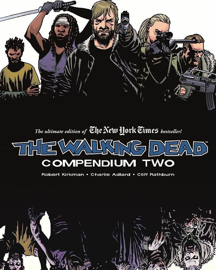 THE WALKING DEAD - COMPENDIUM TWO STORY BY: ROBERT KIRKMAN ART BY: CHARLIE ADLARD, CLIFF RATHBURN Published: October 16, 2012  Returning with the second eight volumes of the fan-favorite, New York Times bestseller series, The Walking Dead, collected into one massive paperback! Collects The Walking Dead issues #49-96.  Order It Now! http://amzn.to/2di8VJ8  #TheWalkingDead #TheWalkingDeadComics #TWD #Comics #ImageComics #Zombie #Walkers #Horror #RickGrimes #RobertKirkman #CharlieAdlard…