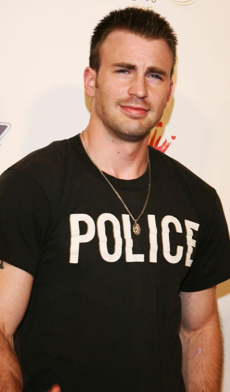 PLEASE ARREST ME OFFICER !! Chris Evans