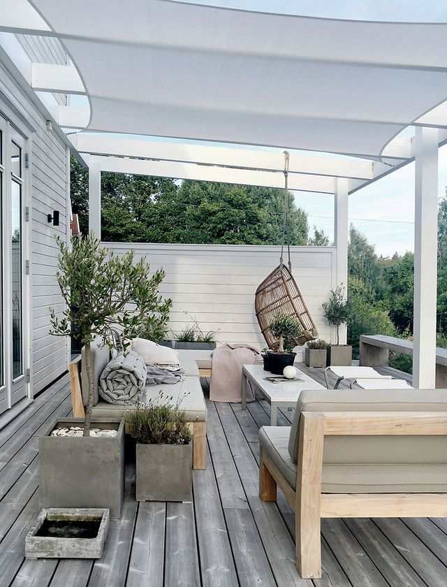 Sunshade over the patio | stilinspiration | Bloglovin'