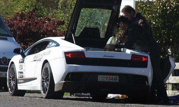 Lamborghini Gallardo - Out Of Gas | The Travel Tart Blog