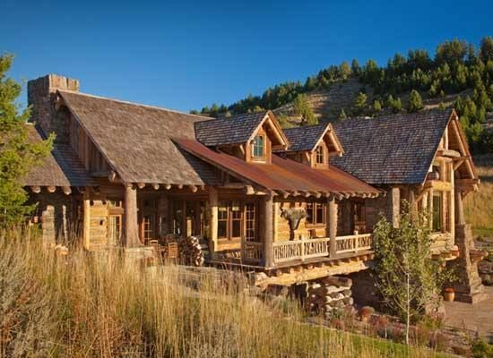 awesome cool log cabins pinterest