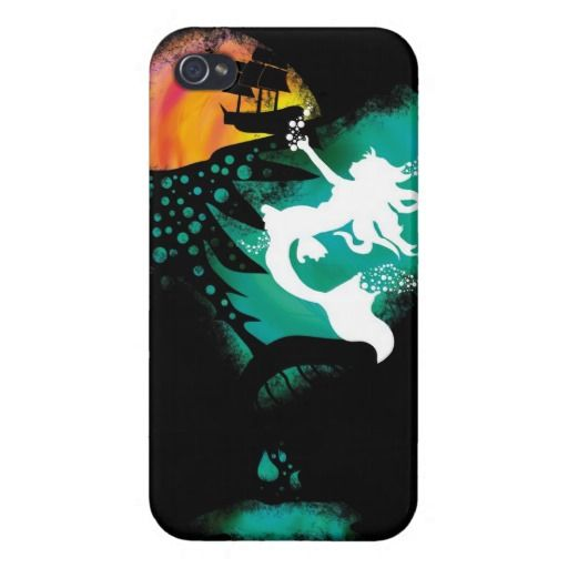 A Mermaid's Death iPhone 4/4S Cover