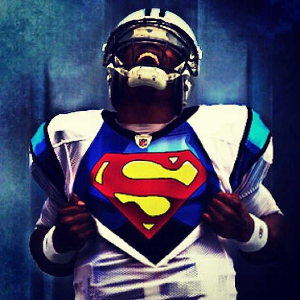 Cam Newton = Superman