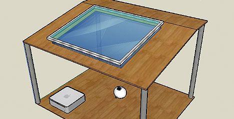 Un estudiante de 17 años diseñó una tablet PC multitáctil casera   Canal.la
