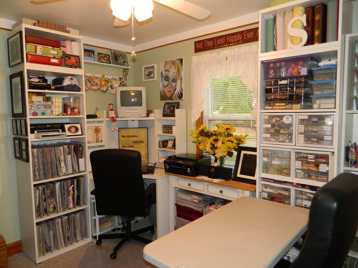 43 best Scrapbook Rooms images on Pinterest | Storage ideas ...