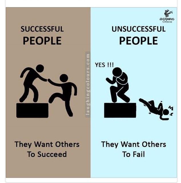 Succesfulde mennesker ønsker at andre får succes. #succes #succesfuld #støtteogomsorg #people #friends #relationer #mlm #networkmarketing
