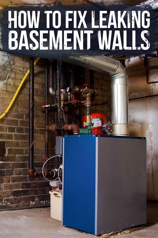 stop basement leaks in their cracks with this handy how to diy rh pinterest com stop basement leaks inside stop basement wall leaks
