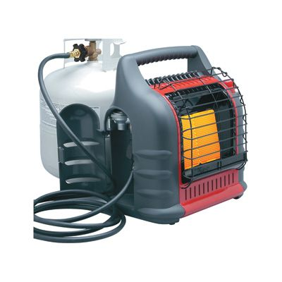 Mr. Heater Big Buddy Indoor/Outdoor Propane Heater — 18,000 BTU, Model# MH18B