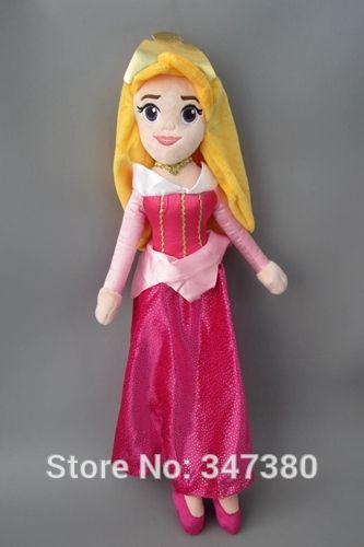 60 СМ Фаршированные Плюшевые Игрушки Куклы Принцесса Аврора Спящая Красавица Принцесса Мягкие Игрушки Дети Подарок