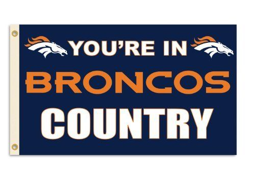 """NFL Denver Broncos 3-by-5 Foot """"In Country"""" Flag by Fremont Die. $19.99. NFL Denver Broncos 3-by-5 Foot """"In Country"""" Flag"""