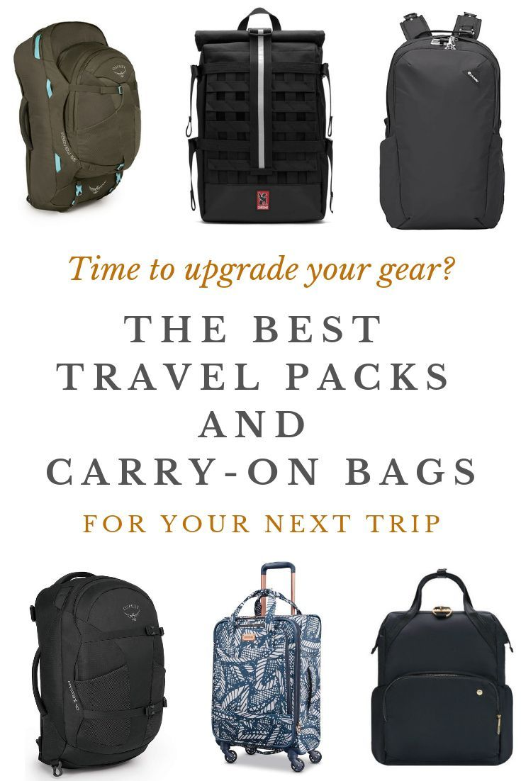 5ef4dca893e Choosing the perfect travel backpack or carry-on can be daunting ...