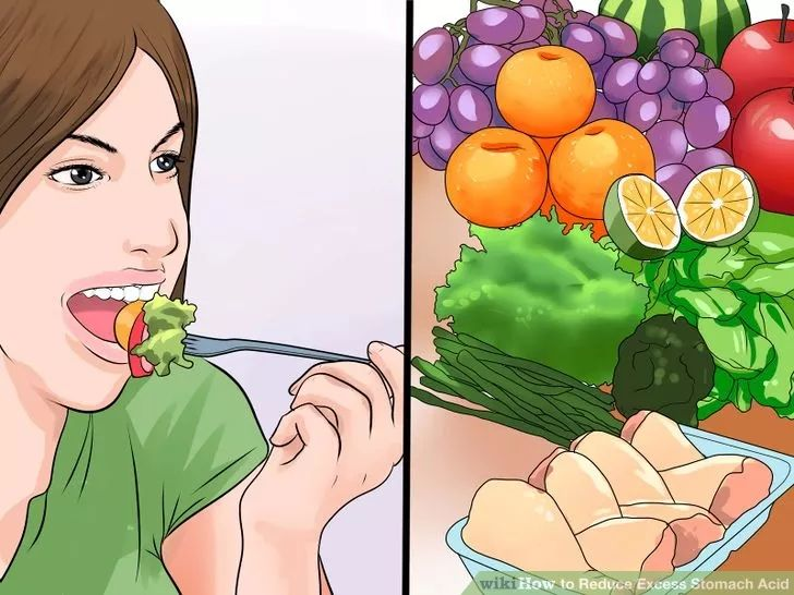 Image titled Reduce Excess Stomach Acid Step 1